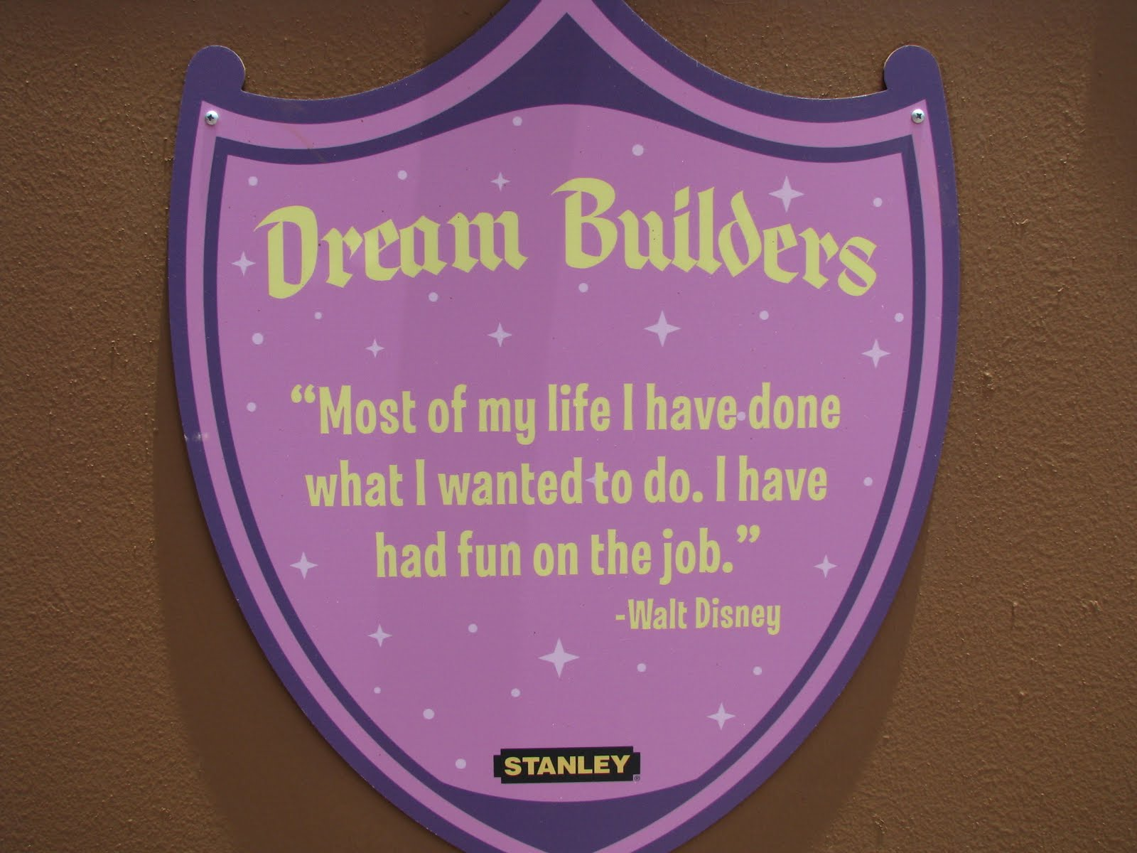 Walt Disney Quotes About Life Quotes From Walt Disney At The Magic Kingdom  Disney World Blog