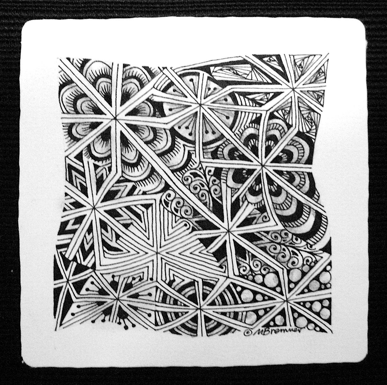 Enthusiastic Artist: Monotangles