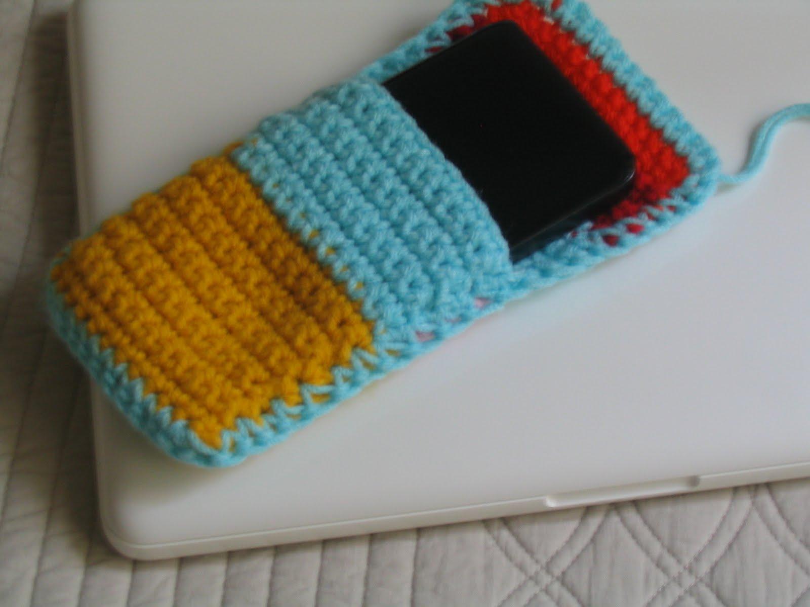 Puerta al sur fundas para notebook tejidas a crochet for Fundas notebook