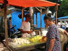 Tahu Wantex di Pasar Rumput