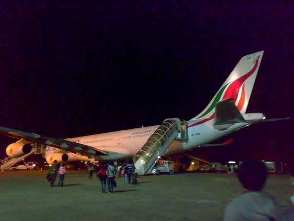 5 force with srilankan airline