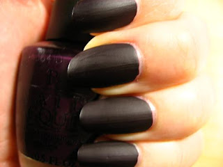 Right on the Nail: OPI Matte Collection: Lincoln Park after Dark Matte