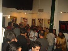La artista y el público