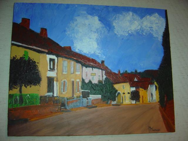 Maizières (70) rue principale...en 1964...