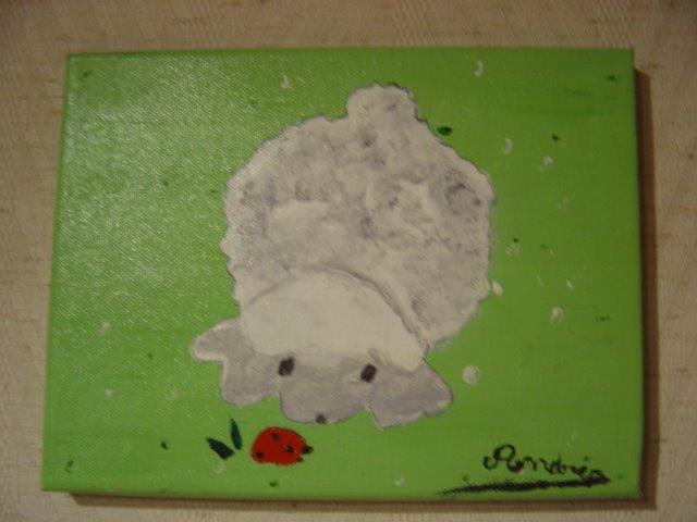Le petit mouton d'Andréa...