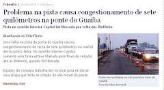 7km de congestionamento na Ponte do Guaíba