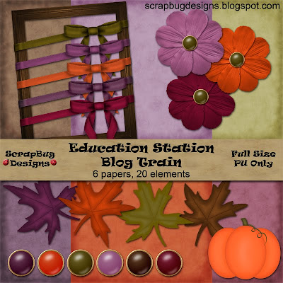 http://scrapbugdesigns.blogspot.com/2009/08/education-station-blog-train-has.html