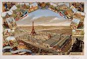Vista general de la exposición universal de 1889