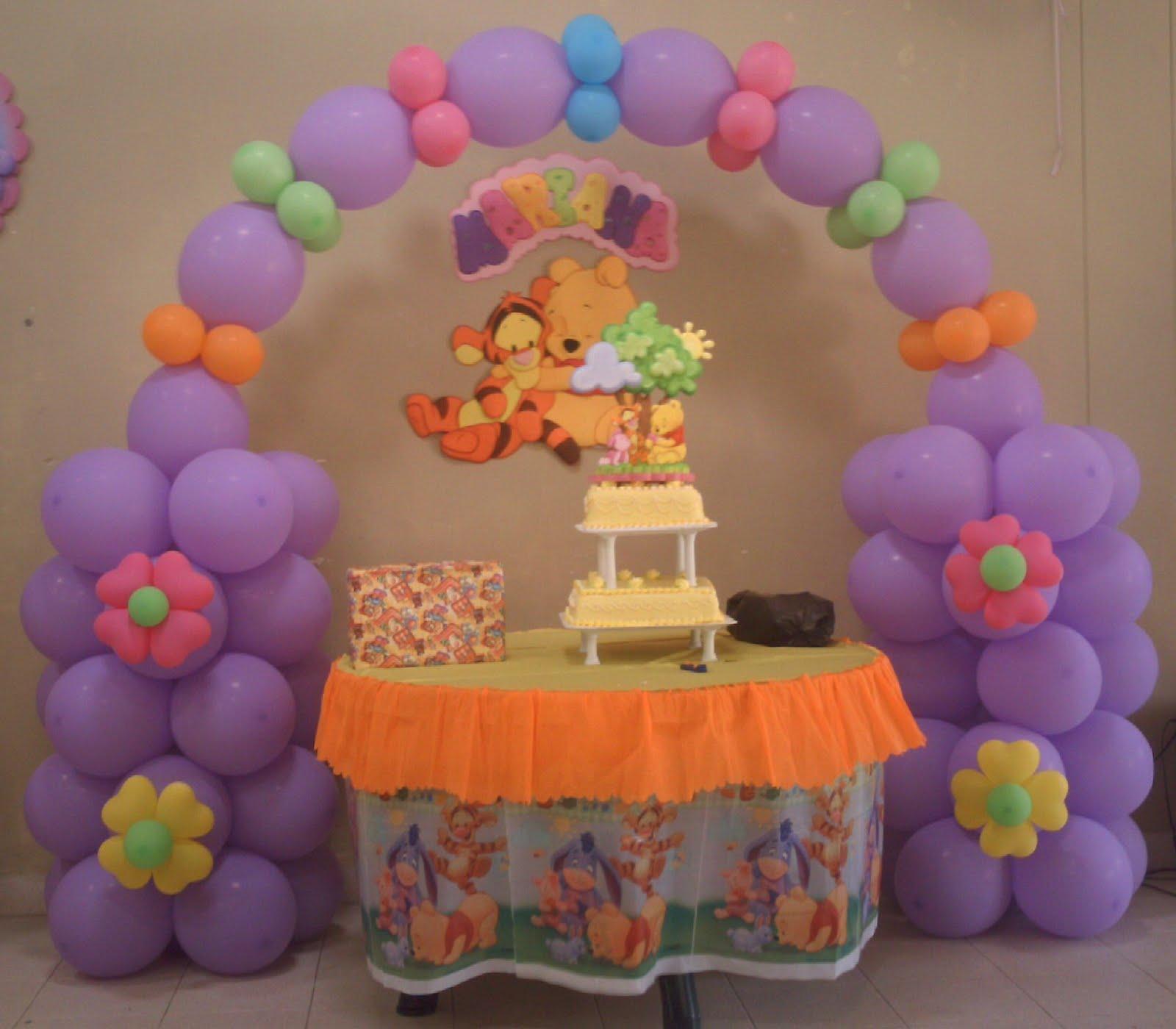Decoracion de bebe winnie pooh imagui - Decoracion fiestas bebes ...