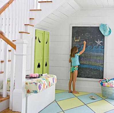 Simple Daisy: {chalkboard paint
