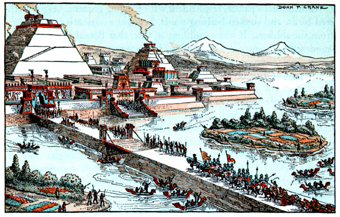 Batalha em Tenochtitlan