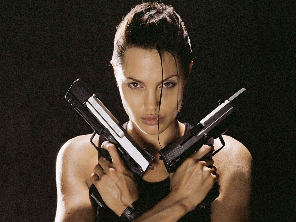 Gia Angelina Jolie Shower