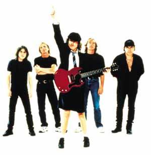 AC/DC en el calderón Acdc