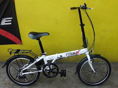Folding Bike FoldX Osaka Rp.900.000.- - DBS Bicycle