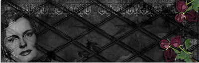 Gothic RoseGarden Background And Header
