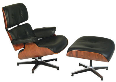 Archclub charles and ray eames for Eames lounge chair tweedehands