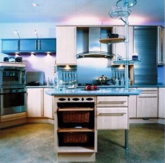 Kitchens Pro blue kitchen design