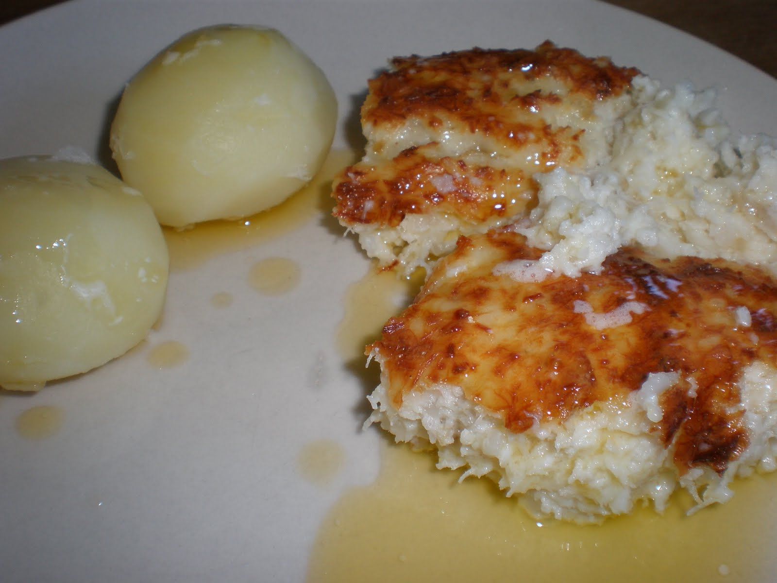 Fiskpudding potatis skirat smör