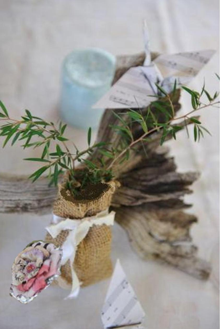 green wedding ideas & green events: Recycled paper green wedding