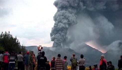 Gunung Bromo Meletus