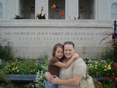 Mom and Alexia at Nauvoo