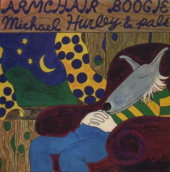 ART + MUSIC BLOG: MICHAEL HURLEY . ARMCHAIR BOOGIE . 1971