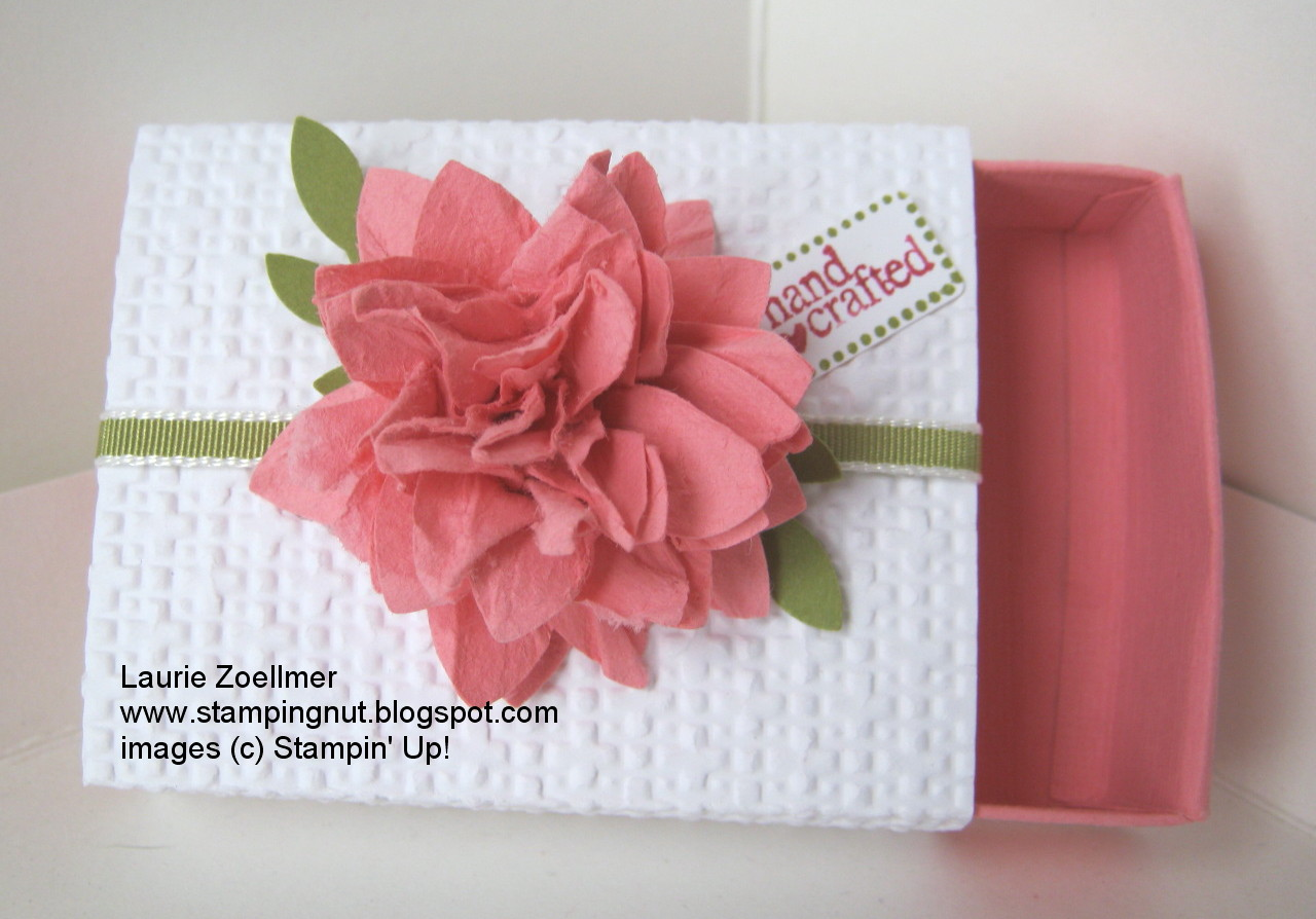 Laurie s Stampin Spot Matchbox Paper Roses SSC 031