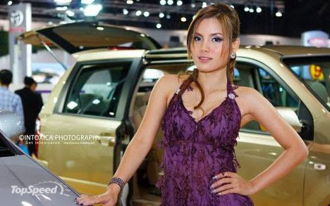 Sexy Girls at Thailand International Motor Expo