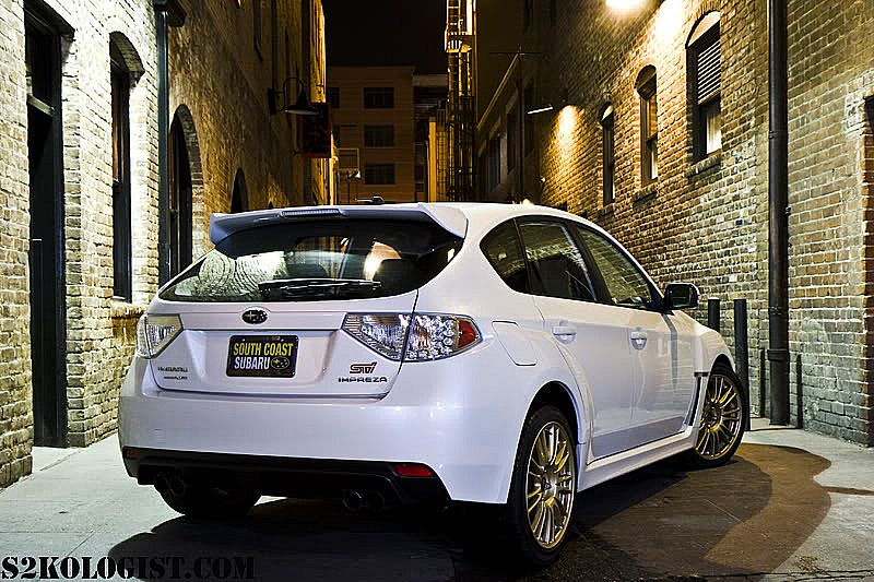 2010 Subaru Impreza WRX STI Modification Picture