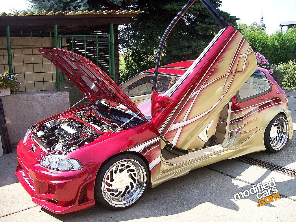 ... Civic EG6 with B18C6 Turbo 1992 |GAMBAR FOTO MODIFIKASI MOBIL SPORT