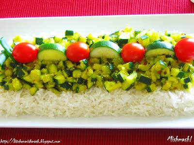 Zucchini Stir Fry/Thoran