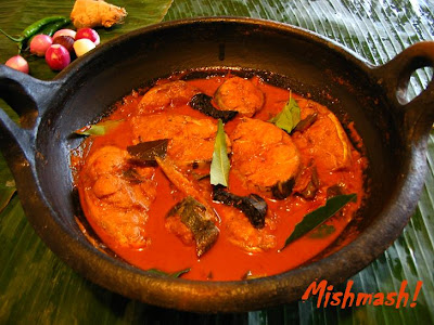 Fish Curry - Central Kerala Style