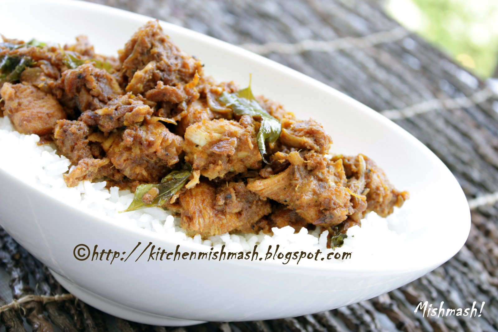 Erachi Olathiyathu/Sauteed Chicken Fry