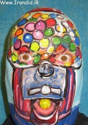http://irandid.ir/ نقاشی روی صورت