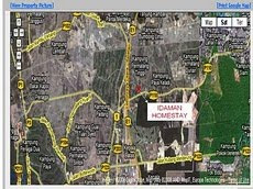 MAP  to Idaman Homestay Penang
