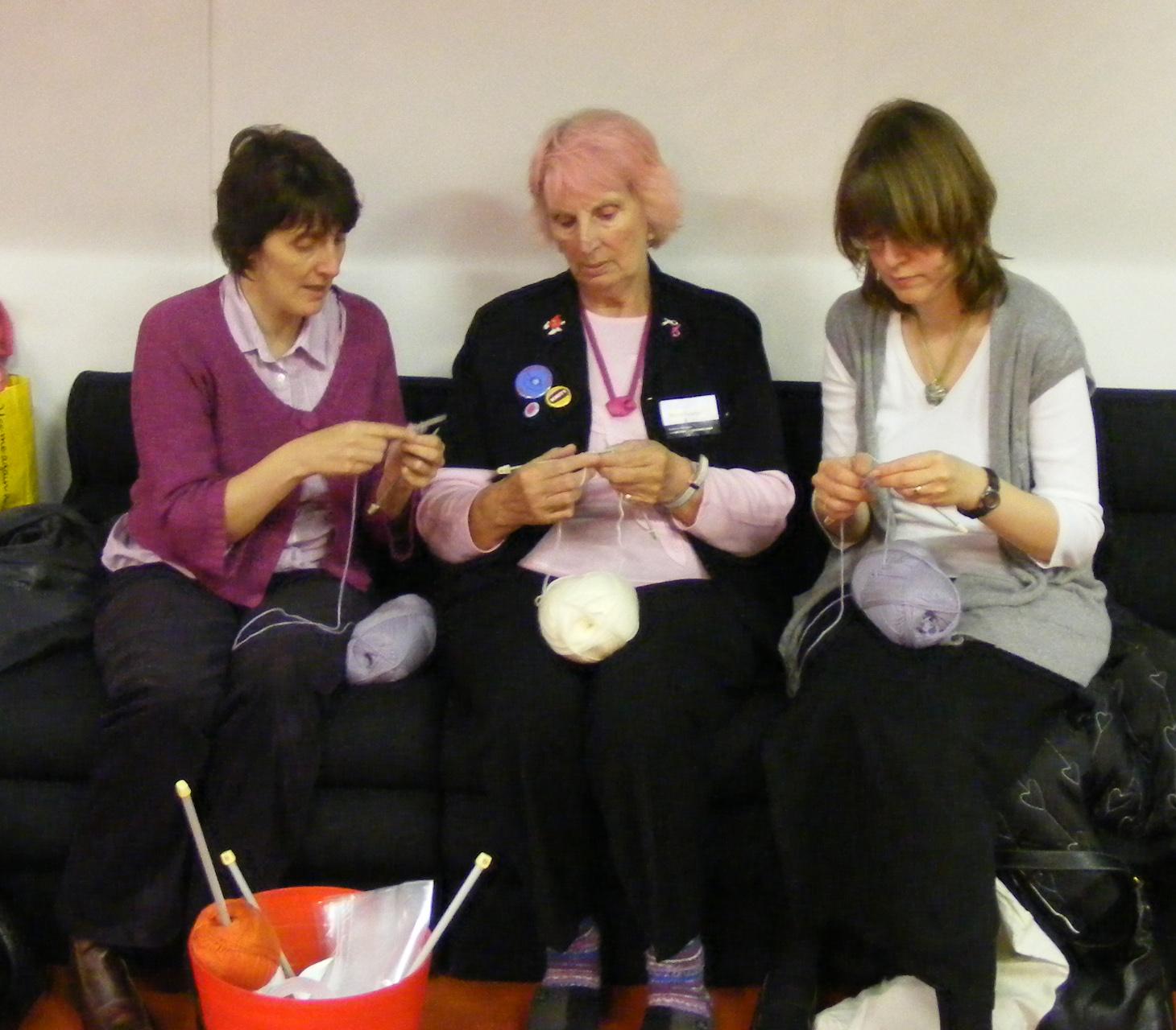 machinequilter: The Knitting and Stitching Show