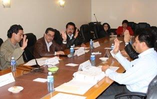 Sesionó la Comisión de Asuntos Municipales