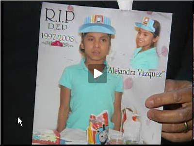 Velan en Brooklyn cuerpo de la pequeña asesinada por su madre