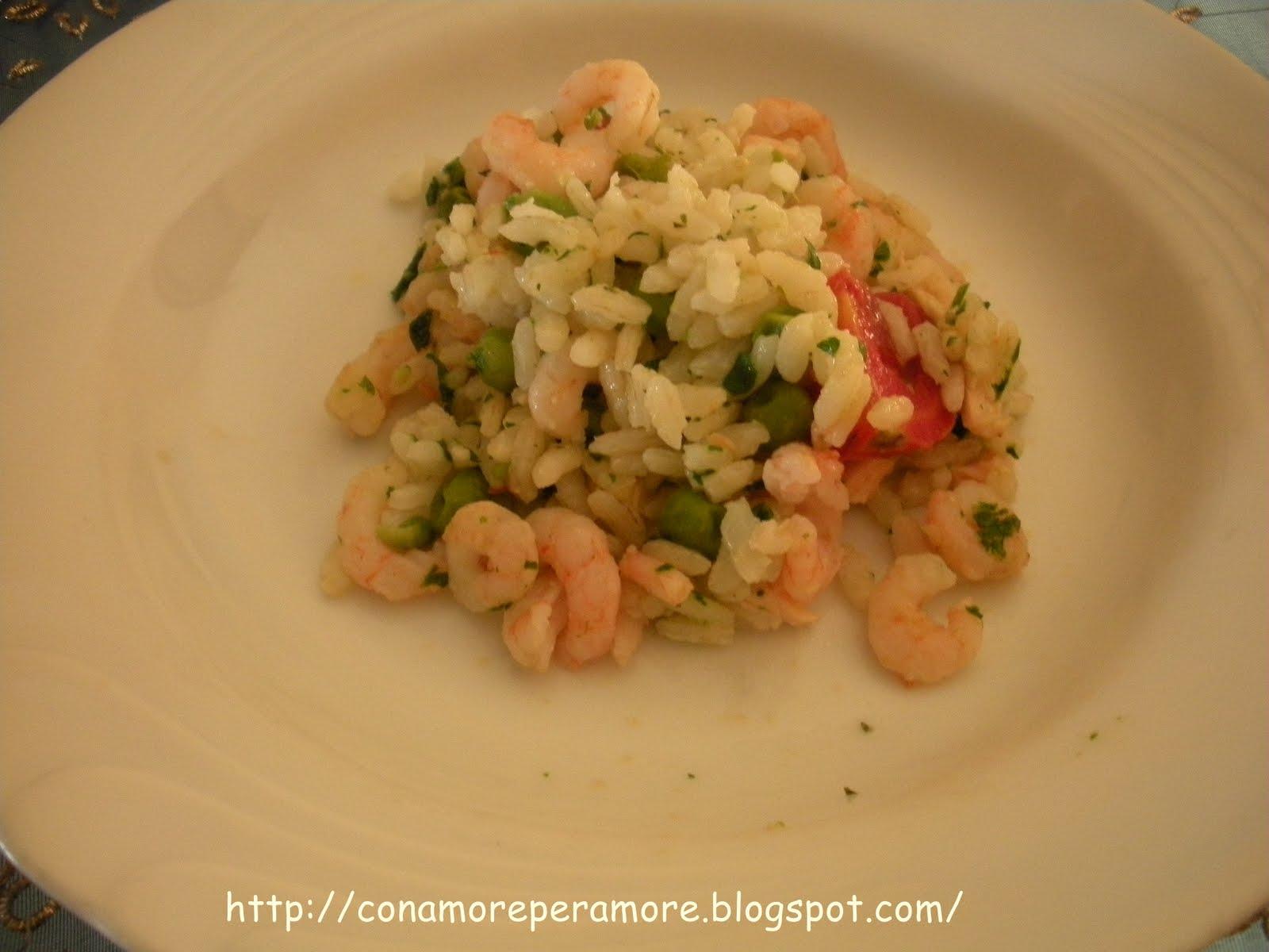 Tris di riso pesce e verdura da con amore per amore su for Pesce chicco di riso