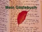 """"""" G ä s t e b u c h """" / Guestbook"""