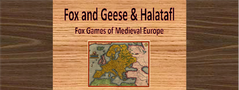 Games of the World: Fox and Geese and Halatafl!