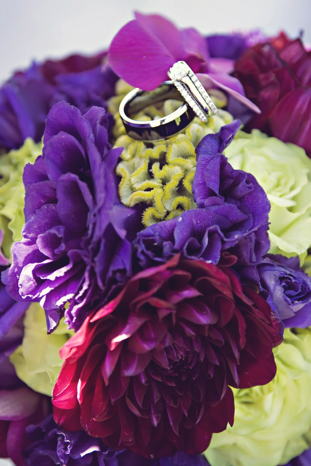 Purple Green Wedding On Pinterest Purple Green Weddings Purple Weddi