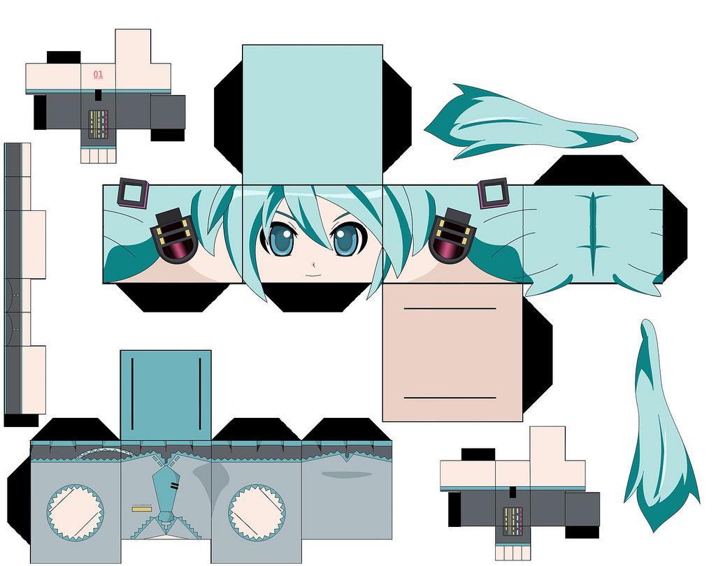 quartafeira 15 de dezembro de 2010 Papercraft Templates Anime