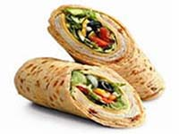 Weight Loss Recipes : Turkey Wrap