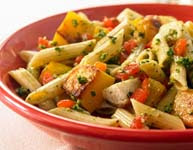 Weight Loss Recipes : Whole Grain Penne with Roasted Vegetables & Parmesan