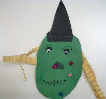 Shape Witches by Mrs. Jarrell's First Grade