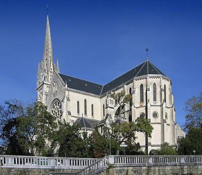 L'église Saint Martin de pau