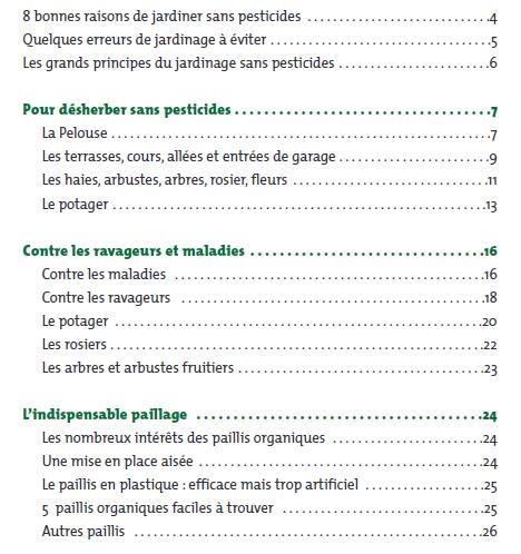 Guide de la consommation et de l 39 environnement for Entretien jardin janvier