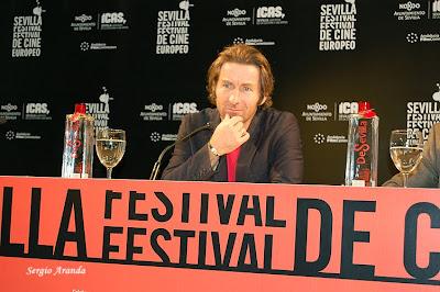 Antonio de la Torre recibe el Premio RTVA en el Festival de Cine Europeo de Sevilla