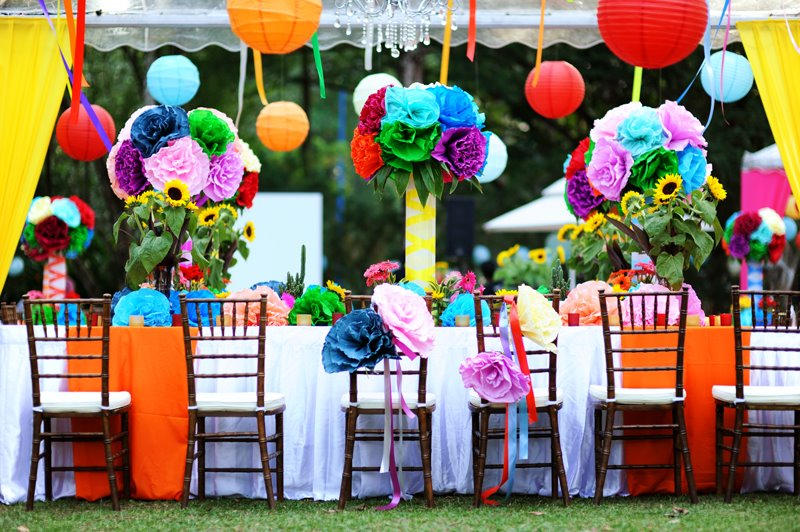 We have it in various color Colorful wedding anyone